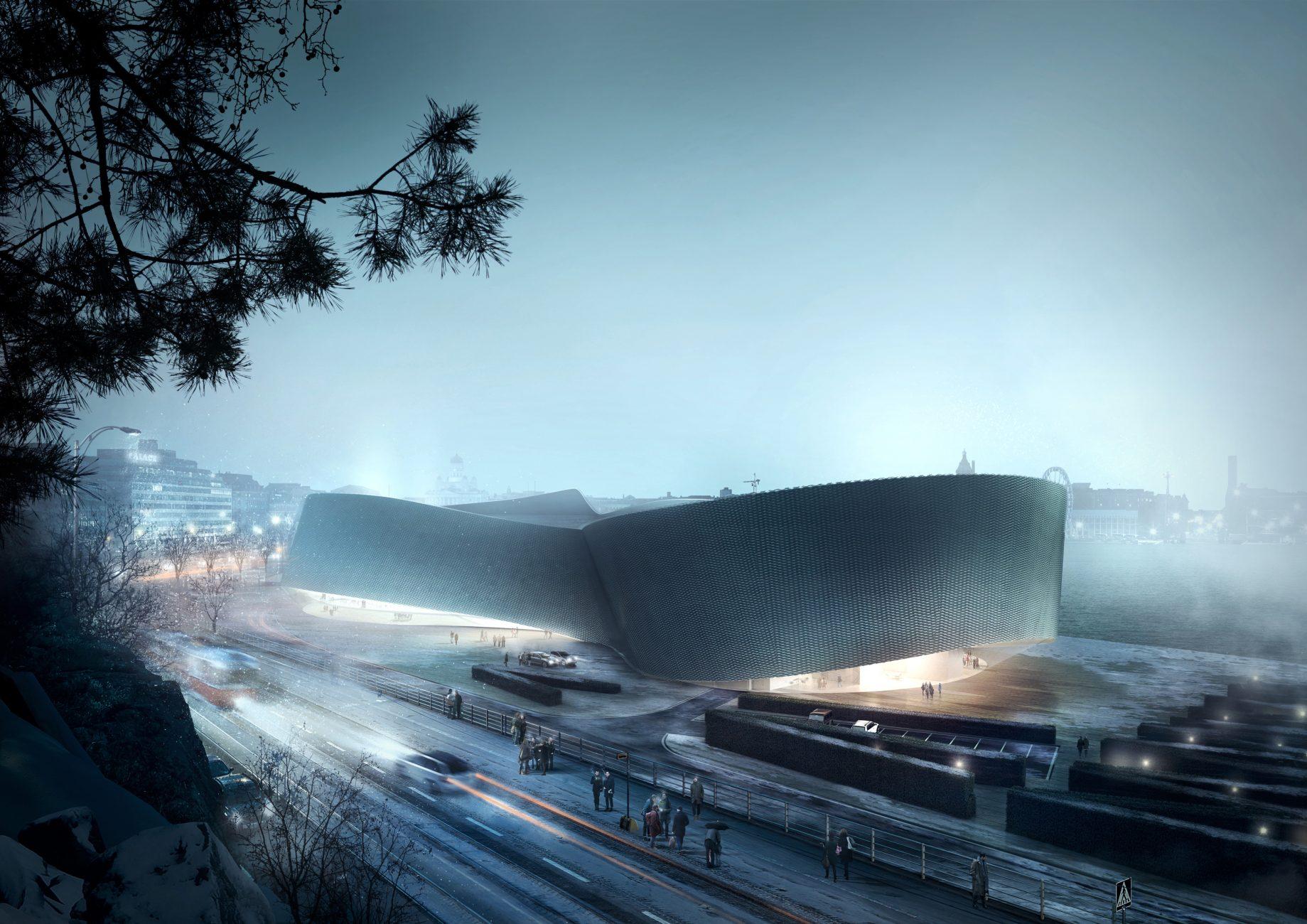 Guggenheim Helsinki by Plus3 Architects